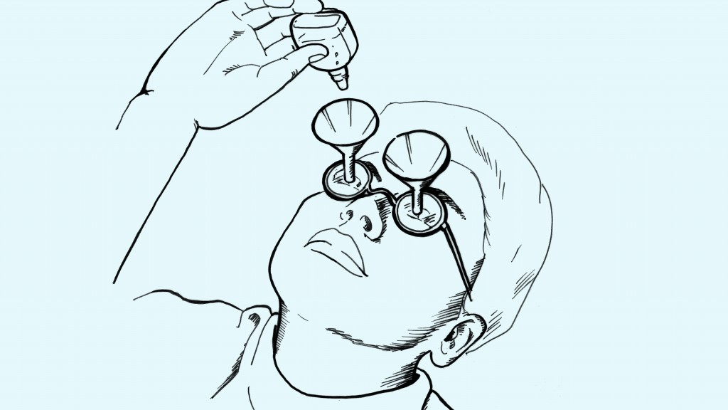 Fig 8.0 The iDrop 2.0: Rid yourself of dry eyes and wet cheeks.