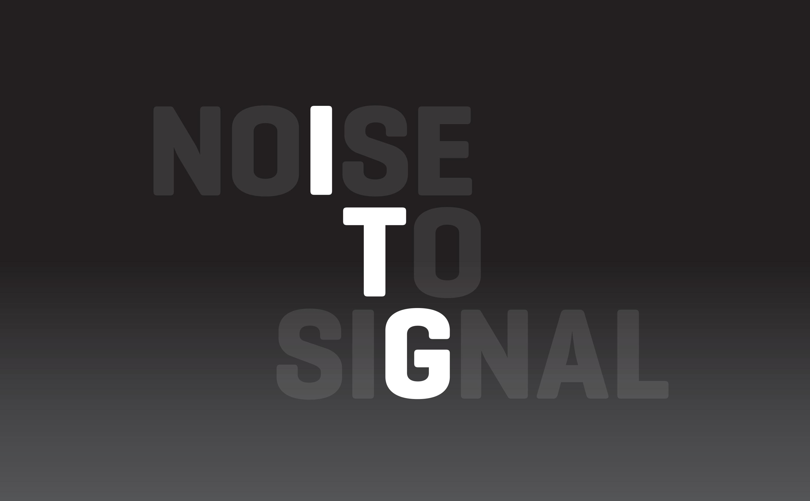 NoiseToSignal
