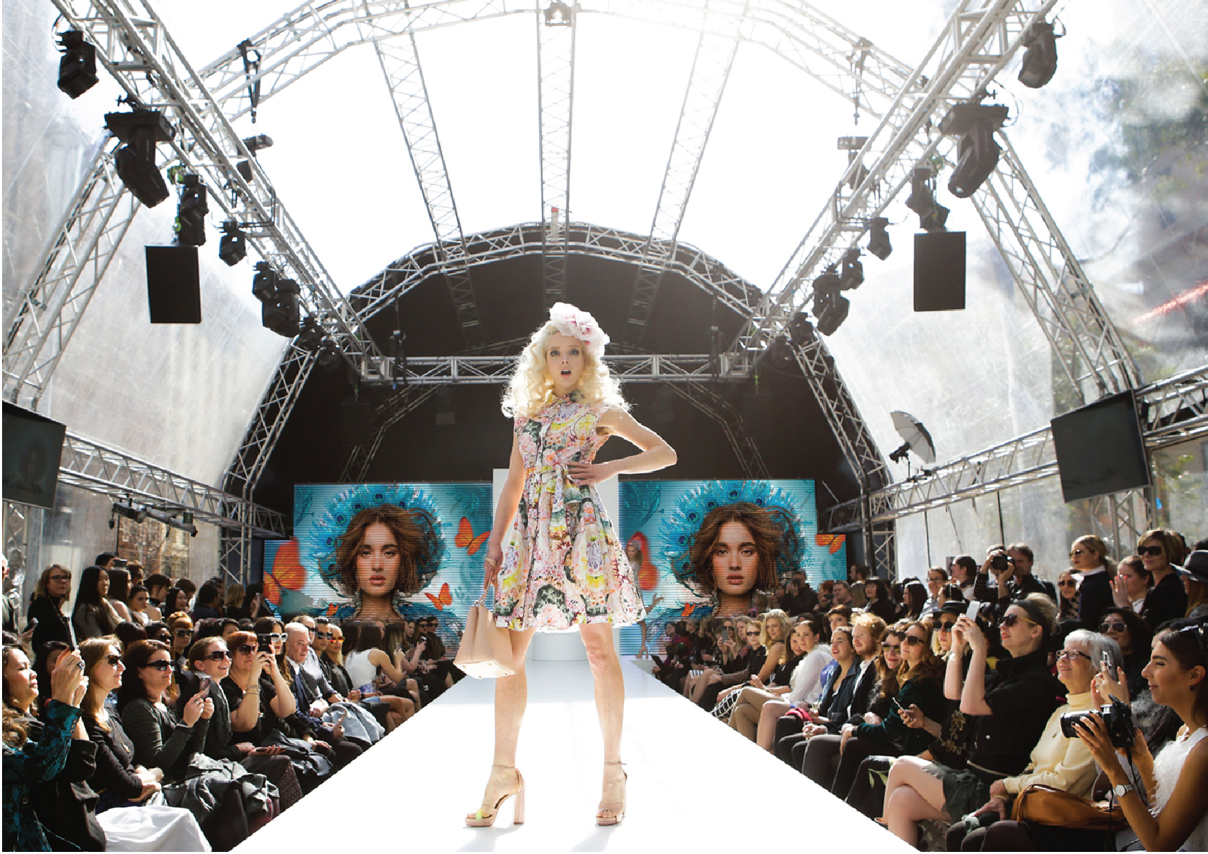 Melbourne Spring Fashion Week identity