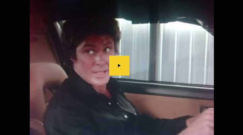 David Hasselhoff and Kitt artificial intelligence