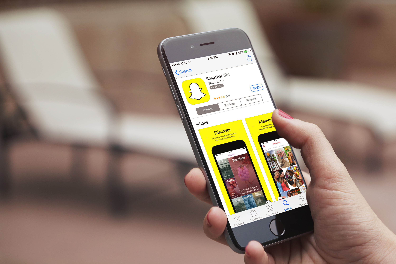Snapchat icon phone