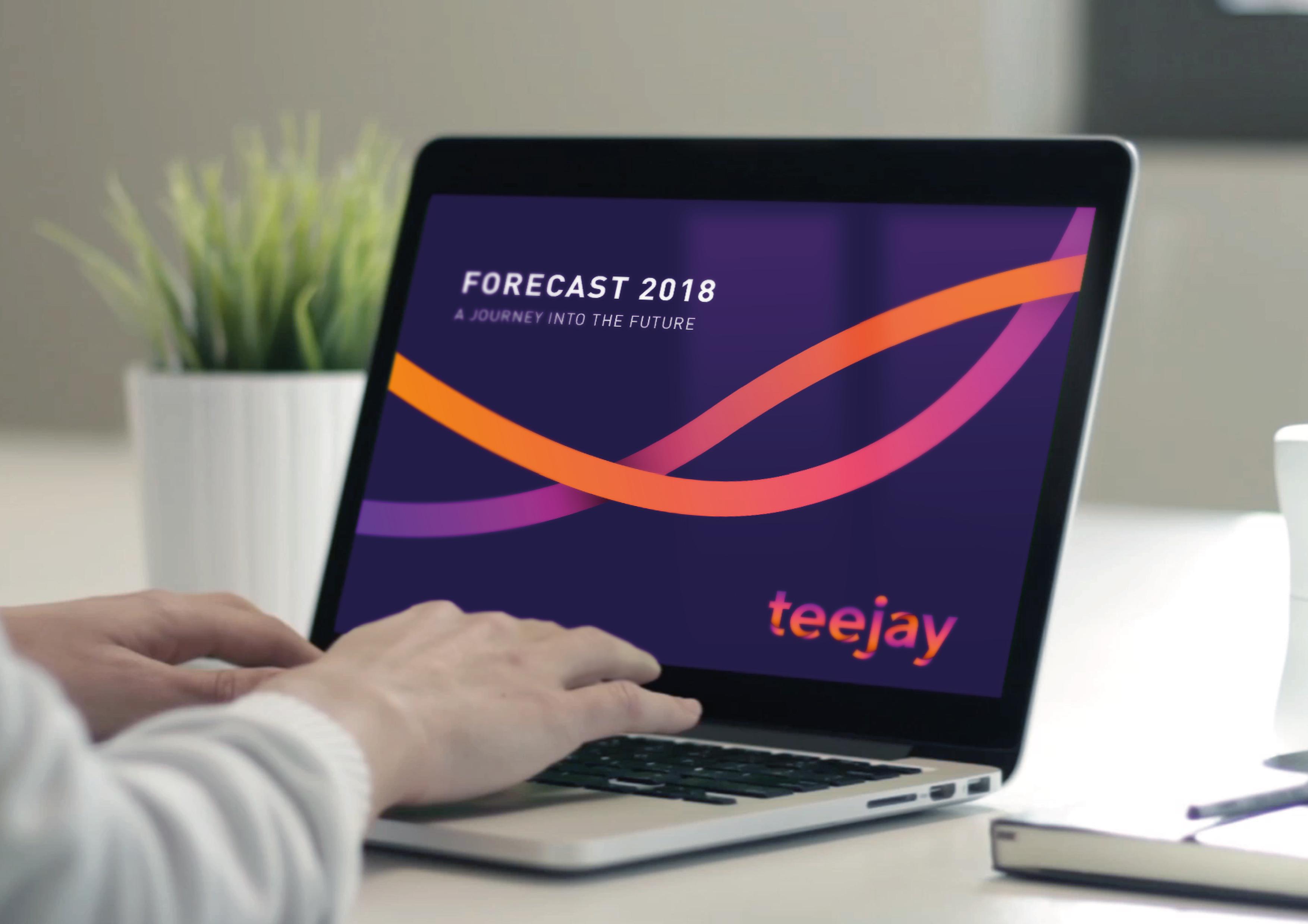 Teejay textured jersey identity forecast