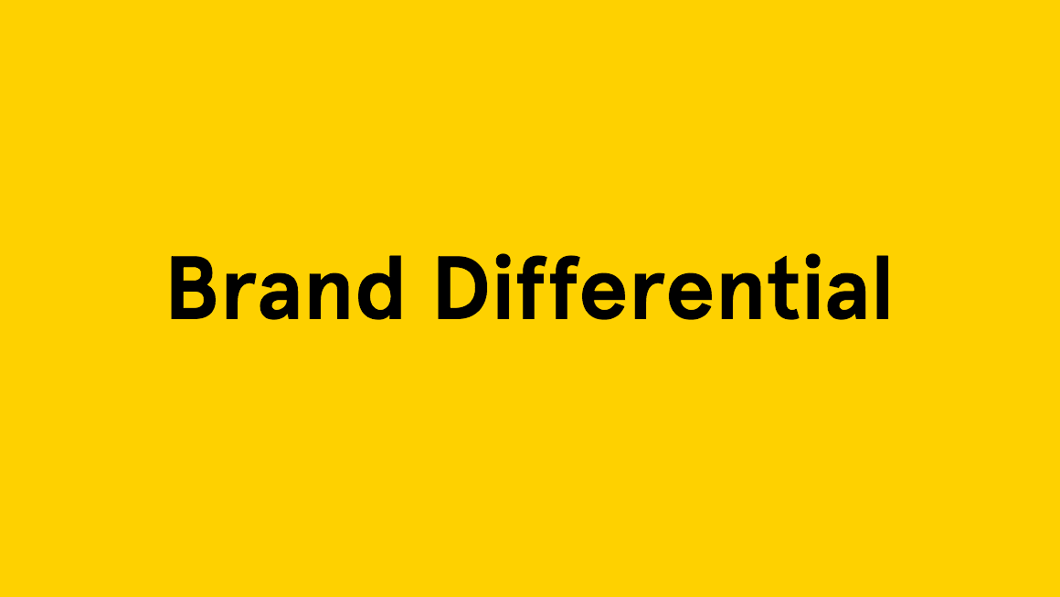 Brand Differential
