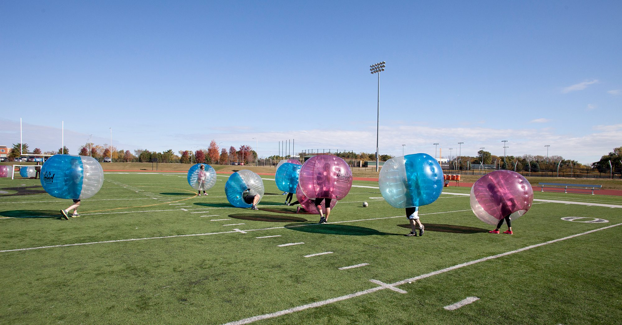 Kidulting 2017 trends bubble soccer