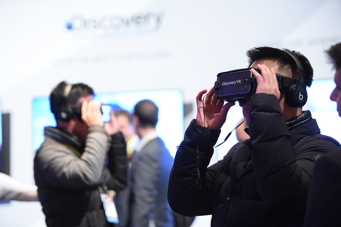 CES VR experience